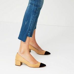 Chanel-like Zara Heels